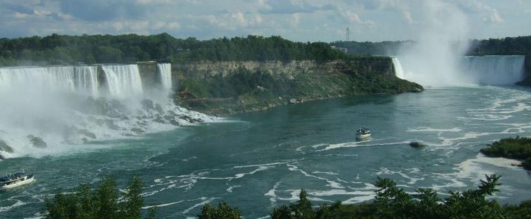 Panorámica de las Cataratas del Niagara