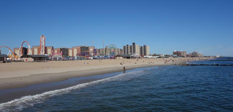 Playa en Coney Island