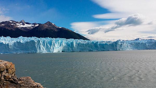 el Perito Moreno en Argentina