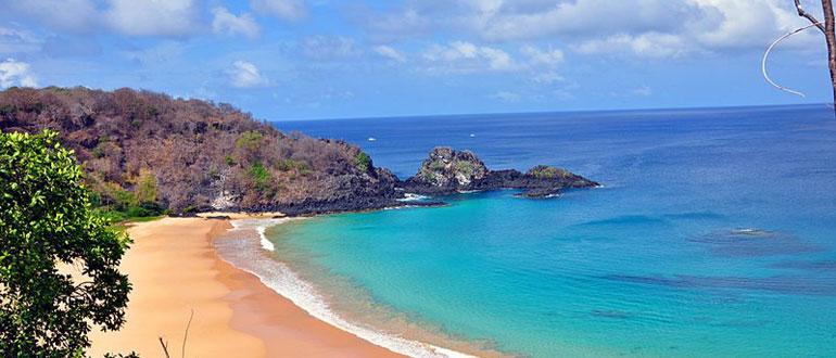 Playa en Sudamerica