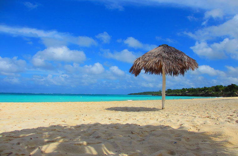 Playas turquesas de Cuba