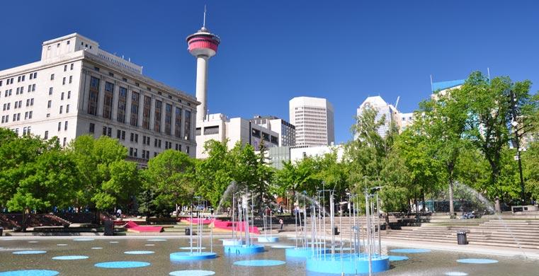 Plaza olímpica Calgary