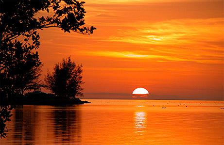 puesta de sol en Keywest