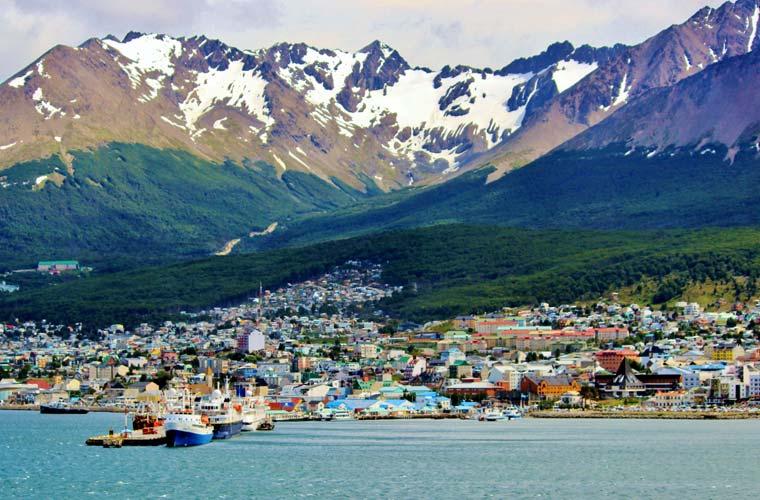 Ushuaia en Argentina