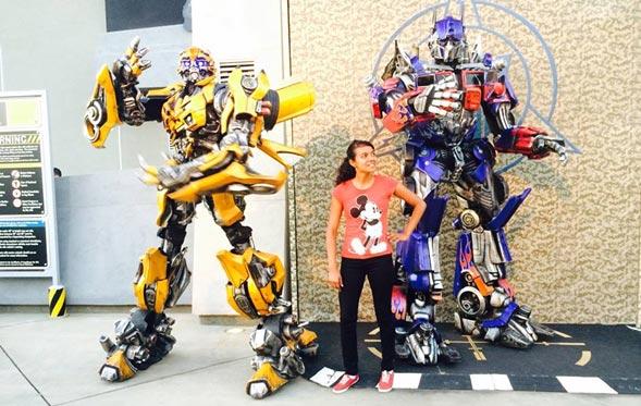 Transformers en Universal Hollywood