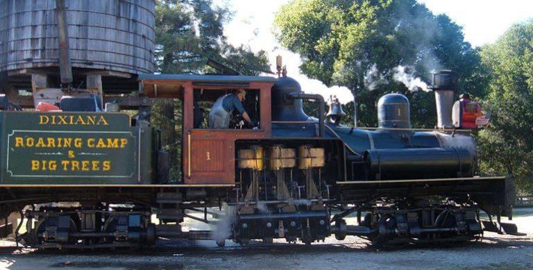 Foto tren Roaring Camp