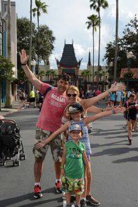 Viaje a Orlando familia Harold