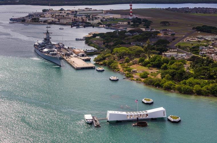 Visita de Pearl Harbour