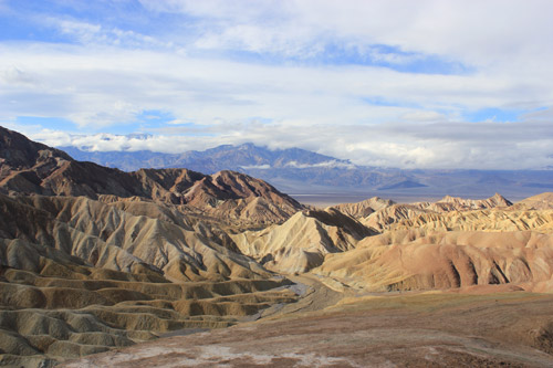 Zabrikie Point en Valle de la Muerte